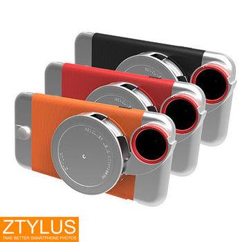 ZTYLUS iPhone 6 6s  鋁合金手機殼+ RV2 四合一鏡頭 (ZIP-6+RV-2,公司貨)微距 廣角 魚眼 偏光