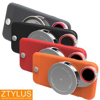 ZTYLUS iPhone 6 / 6s 輕量系列 手機殼+ RV2 四合一鏡頭 塑膠殼 (ZIP-6L+RV-2,公司貨)微距 廣角 魚眼 偏光