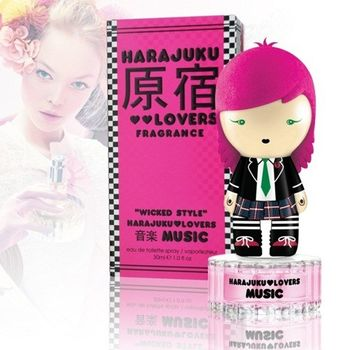 【Harajuku Lovers關史蒂芬妮】原宿娃娃小惡魔公仔香水-小音(30ml)