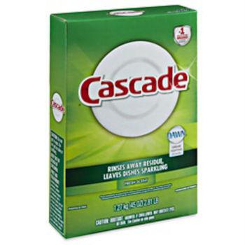 【美國 Cascade】自動洗碗機專用-洗碗粉(清新香-1.27kg/45oz)*12/箱購