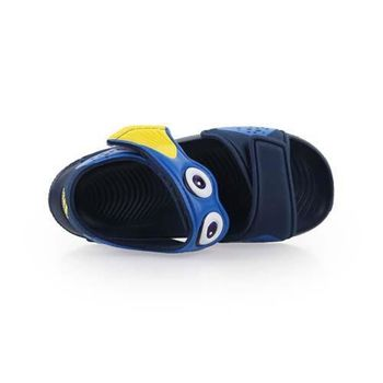 【ADIDAS】DISNEY AKWAH 9 I 男女兒童運動涼鞋 丈青藍黃
