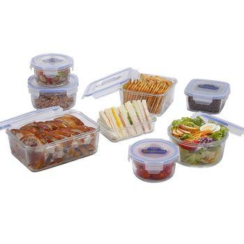 鍋寶耐熱玻璃保鮮盒野餐分享組