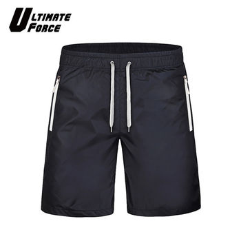 Ultimate Force極限動力「衝鋒」輕量速乾運動短褲 (黑白)