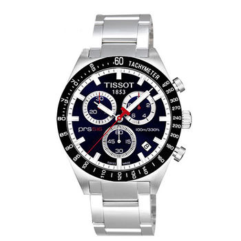 TISSOT PRS516 極限傳說復刻石英男用腕錶-藍/40mm/T0444172104100