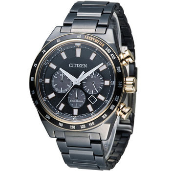 CITIZEN Eco-Drive 星辰 極光時尚大錶面腕錶 CA4207-53H