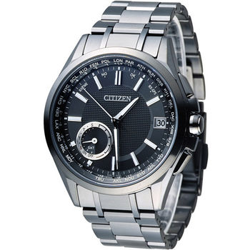 星辰 CITIZEN 光動能【鈦】感光衛星計時腕錶 CC3015-57E