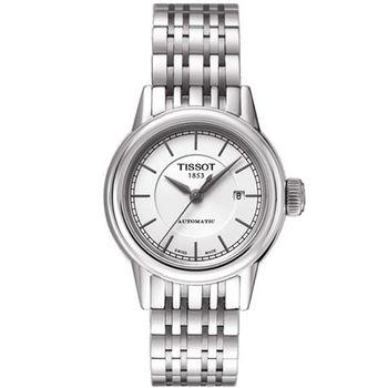 TISSOT T-Classic 經典大三針機械腕錶/銀-29mm-T0852071101100