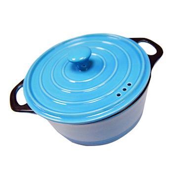 【SILWA 西華】繽紛鑄瓷鍋18cm