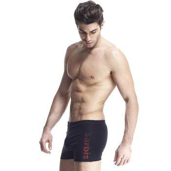 【SARBIS】MIT泡湯SPA專用三分泳褲附泳帽B52401
