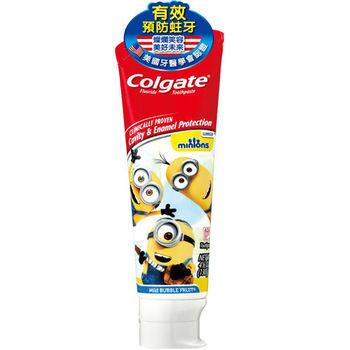 高露潔小小兵兒童牙膏130g*3支