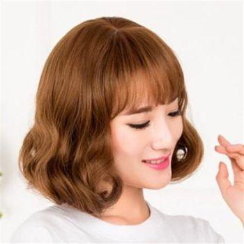 【米蘭精品】中長假髮整頂假髮日系優雅氣質蓬鬆