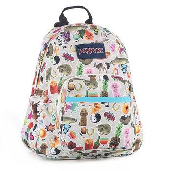JanSport校園背包(HALF PINT)-兒時貼紙(兒童包)