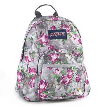 JanSport校園背包(HALF PINT)-花漾灰(兒童包)