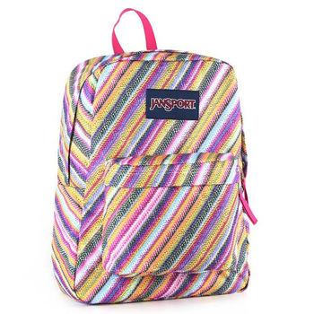 JanSport校園背包(SUPER BREAK)-彩色蠟筆