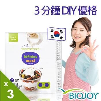《OHBA歐爸》3分鐘DIY手打優格粉_韓國原裝進口x3盒