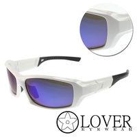 ~Lover~偏光粗框白黑太陽 護目鏡 #40 AT9393 #45 白黑 #41