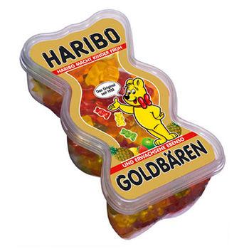 【哈瑞寶 HARIBO】 金熊盒裝水果風味Q軟糖450g×3入