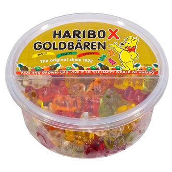 【哈瑞寶 HARIBO】 金熊盒裝水果風味Q軟糖200g×12入
