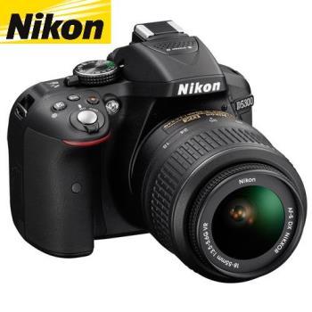 [64G+電池組]【Nikon】D5300+AF-P 18-55mm KIT(公司貨)