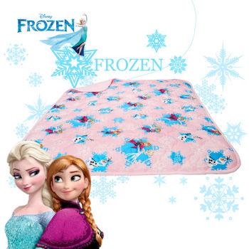 冰雪奇緣 夢幻魔法 粉 涼被 雙人