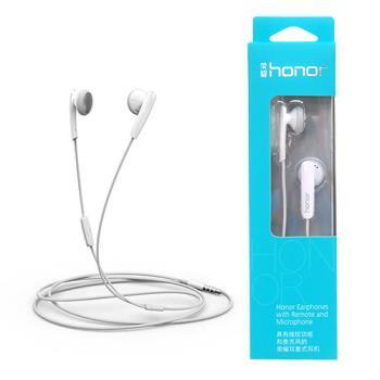 華為 HUAWEI 榮耀honor 原廠耳塞式耳機 可線控/麥克風(盒裝)