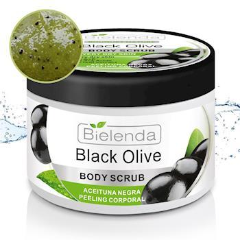 Bielenda碧爾蘭達 黑橄欖精華緊緻去角質霜-200g