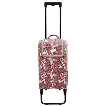 卡蘿輕便時尚購物車(輕旅行/登機)-20L Extra-英國旗紅