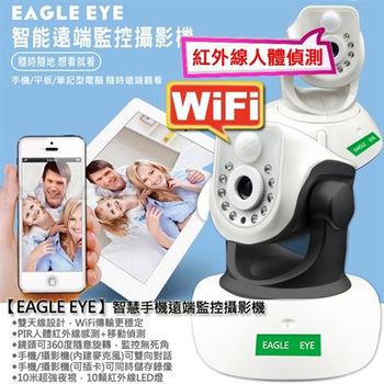 P2P網路攝影機EG-501 無線 IP Cam 旋轉插卡錄影遠端監聽手機監視器
