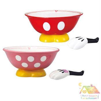 Disney人氣拉麵碗 米奇 米妮 拉麵碗 兩入一組