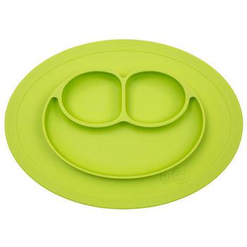 美國EZPZ矽膠防滑餐盤-蘋果綠(迷你版)