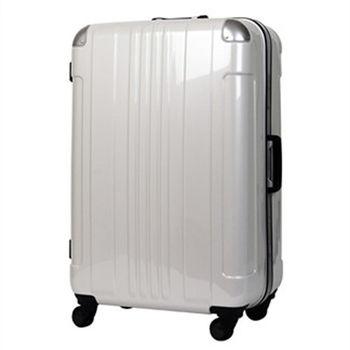 日本 LEGEND WALKER 6012-68-28吋 鋁框輕量旅行箱 碳纖白