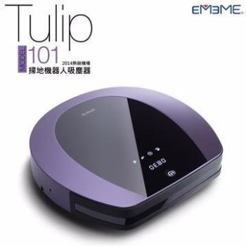 EMEME 掃地機器人 吸塵器 Tulip101 經典藍紫