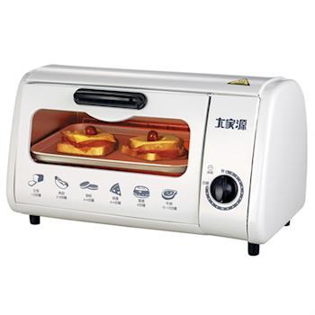 大家源8L單旋鈕電烤箱 TCY-3808A