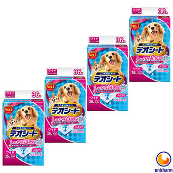 【Unicharm】日本消臭大師 超吸收狗尿墊 LL36片 X 4包