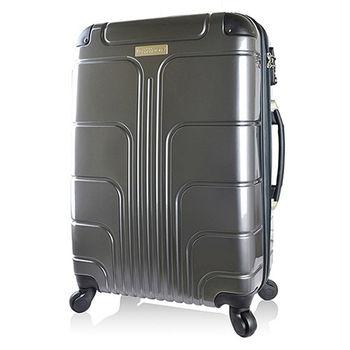 【Luggagezone】旅遊家28吋PC鏡面防水拉鍊海關鎖行李箱/旅行箱