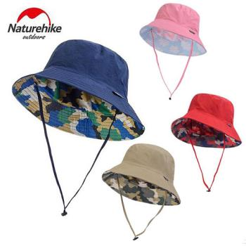 【Naturehike】迷彩潮流款速乾透氣漁夫帽/遮陽帽/防曬帽 (任選二入)