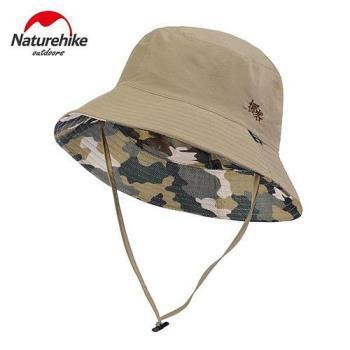 【Naturehike】迷彩潮流款速乾透氣漁夫帽/遮陽帽/防曬帽 (迷彩卡其)