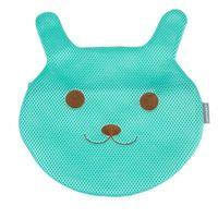 窩自在~繡花可愛動物防變形內衣褲 加厚洗衣袋 兔子款 ~綠色