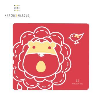 【MARCUS&MARCUS】動物樂園矽膠餐墊-獅子