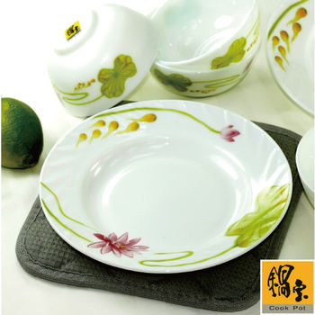 【鍋寶】強化耐熱玻璃餐盤四入組 EO-SB8410917Z748595C