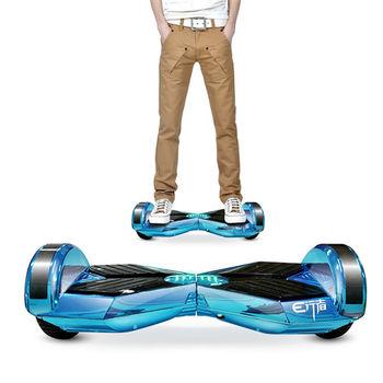 HIWEE 新款6.5吋智慧型帥氣彩燈體感平衡車 (電動車,移動車)-藍色