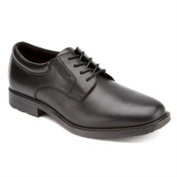 【ROCKPORT】全防水系列 正裝鞋(黑色 ESNTIAL DTL WP PLN M76115)