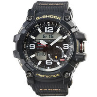 CASIO 卡西歐G ^#45 SHOCK 雙顯鬧鈴電子錶 ^#45 黑 ^#47 GG