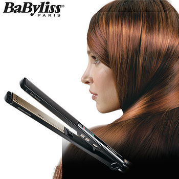 【買再送】【Babyliss】鈦金陶瓷24mm專業直髮夾ST87W