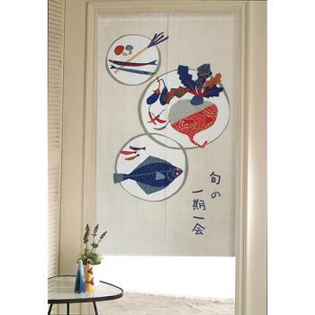 【巴芙洛】日式門簾-一期一會