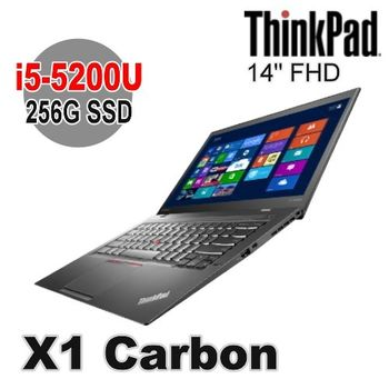 Lenovo 聯想 ThinkPad X1C 14吋 FHD i5-5200U 256G SSD Win7 Pro X1 Carbon 筆電王者