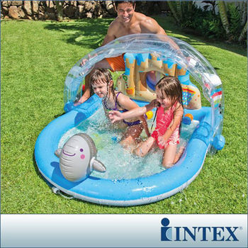 【INTEX】夏日愛沙灘戲水池 (57421)
