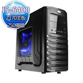 |華碩平台|重生計畫 Intel i5-6400四核 GTX750獨顯 桌上型電腦