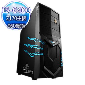 |華碩平台|英雄內戰 Intel i5-6400四核 GTX960獨顯 桌上型電腦