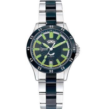 瑞士愛其華( Ogival )夜鷹系列時尚氚氣機械腕錶-黑   3613-011ATMSB